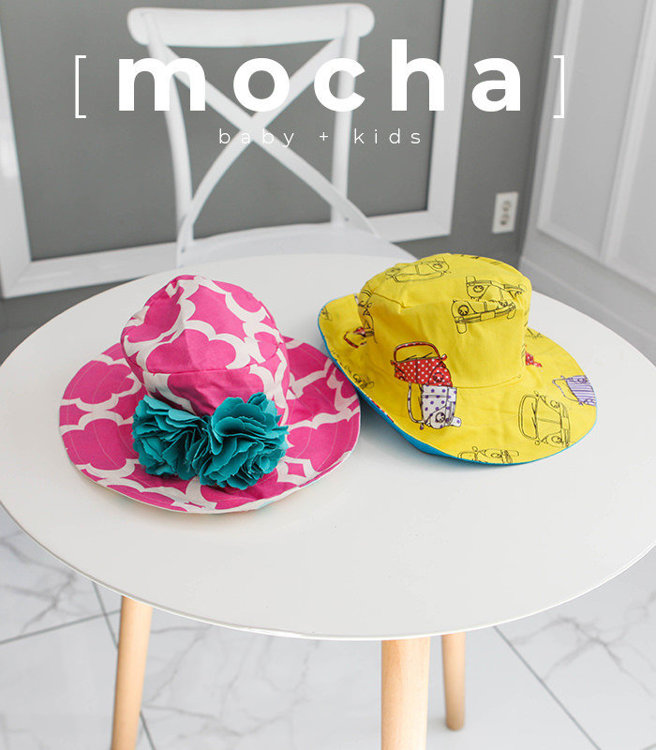 Picture of (3M-24M) Veronica Hat PDF Pattern