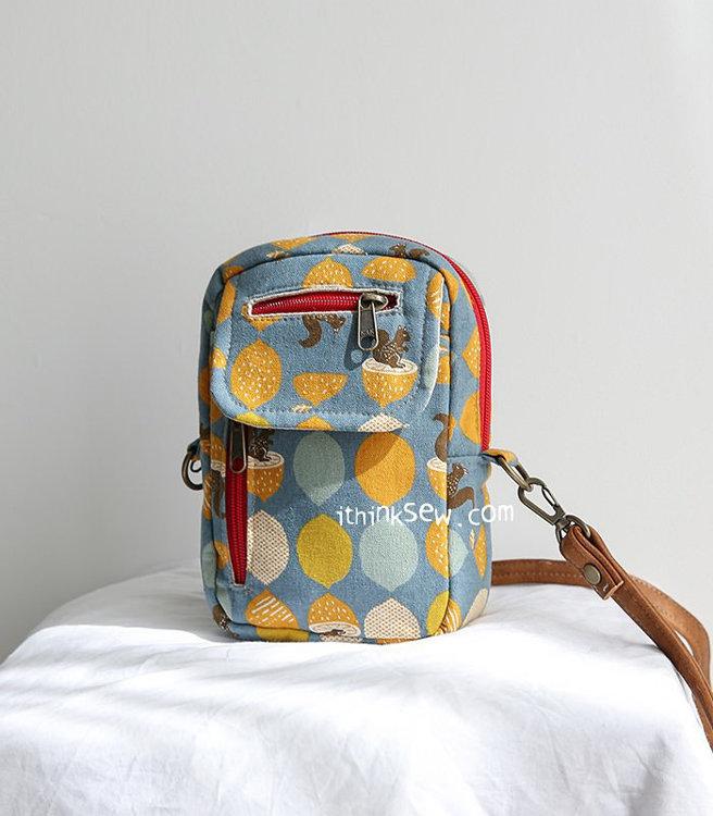 Picture of Mini Kiara Cross Bag PDF Pattern