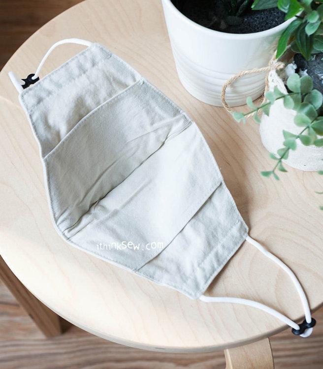Picture of 40 Cotton Filter Pocket Masks - 20% Off!