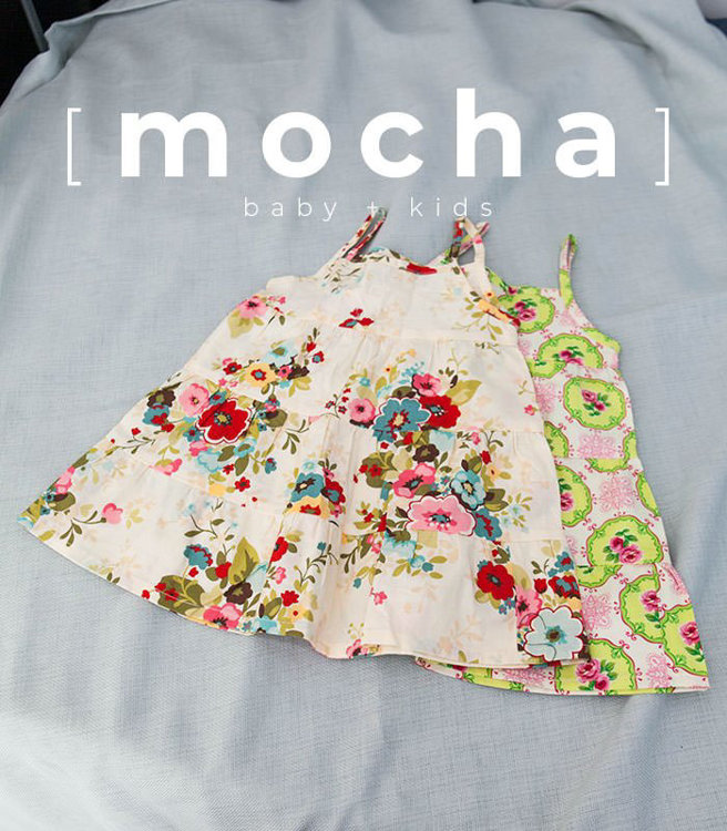 Picture of (1Y-5Y) Heidi Dress and Blouse PDF Pattern