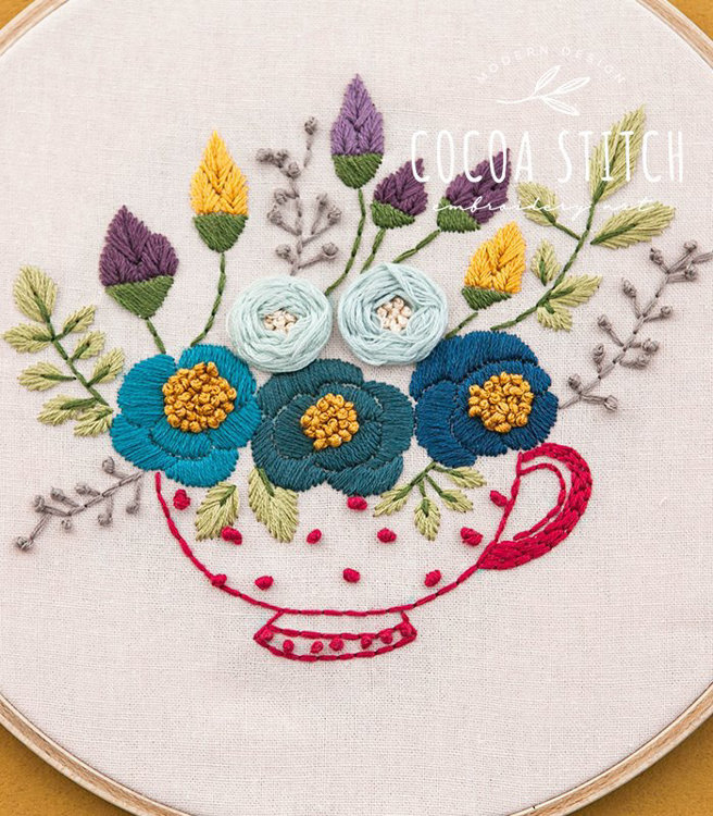 """Picture of 9"""" Red Tea Cup Kit"""