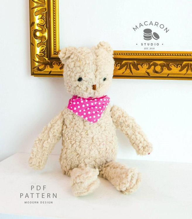 Picture of Teddy Bear PDF Pattern