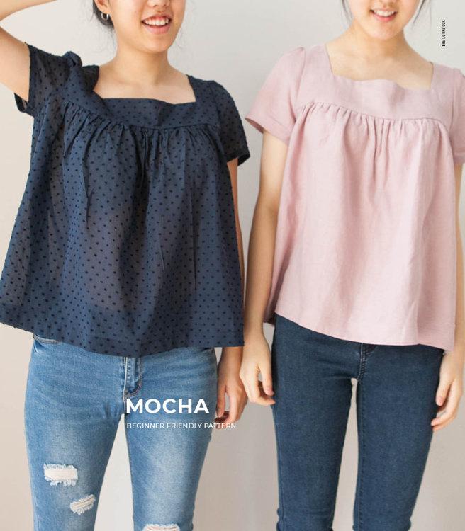 Picture of MOCHA Shiloh Women's Blouse Paper Pattern