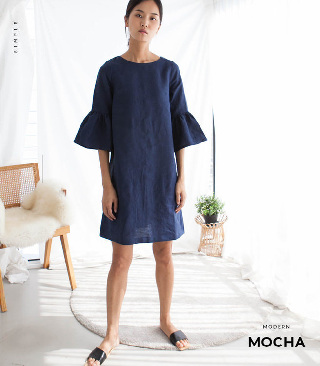Picture of MOCHA Angelina Dress Paper Pattern
