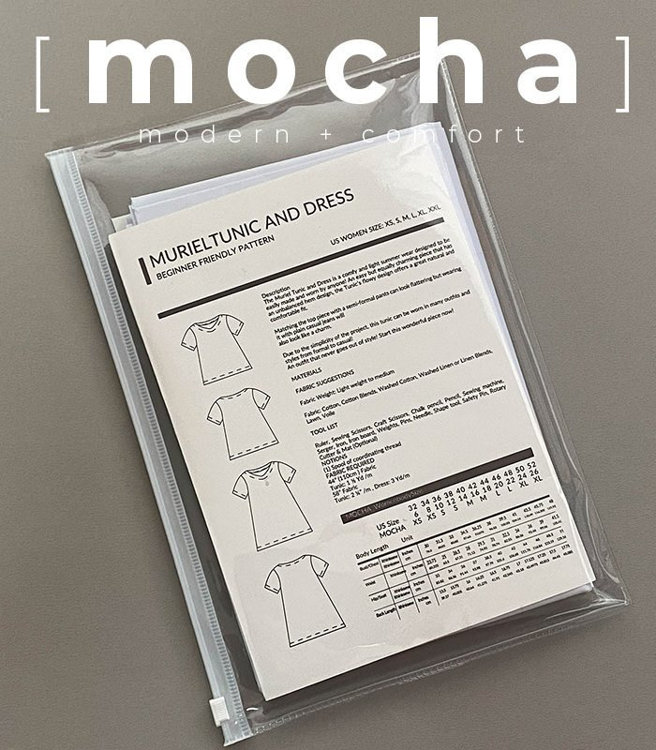 Picture of MOCHA Lainey Blouse Paper Pattern