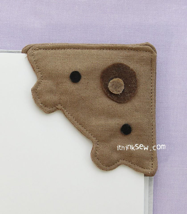Picture of Free Bordeaux Bookmark PDF Pattern