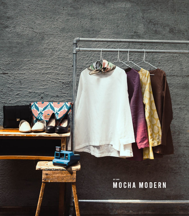 Picture of 10 MOCHA Basic A-Line Tunic Paper Pattern (#3132_3097) - 25% Off!