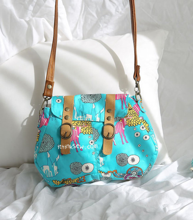 Picture of Quiana Cross Bag PDF Pattern