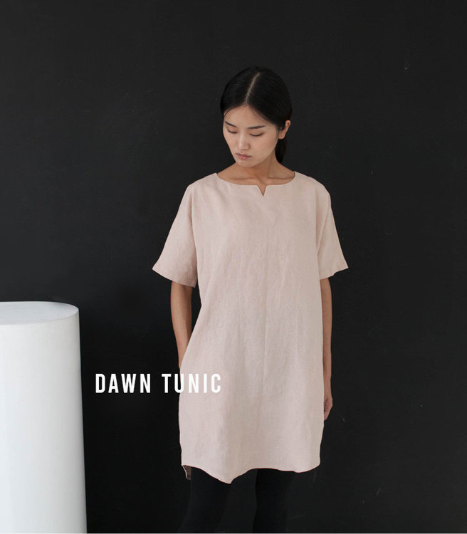 Picture of 10 MOCHA Dawn Tunic Paper Pattern (#3188_3175) - 25% Off!