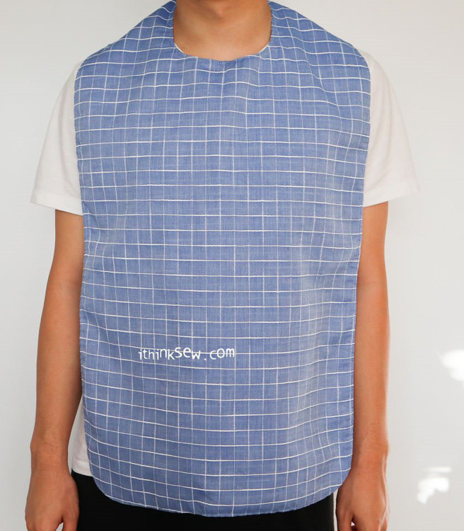 Picture of FREE Clothing Protector - Adult Bib  PDF Pattern