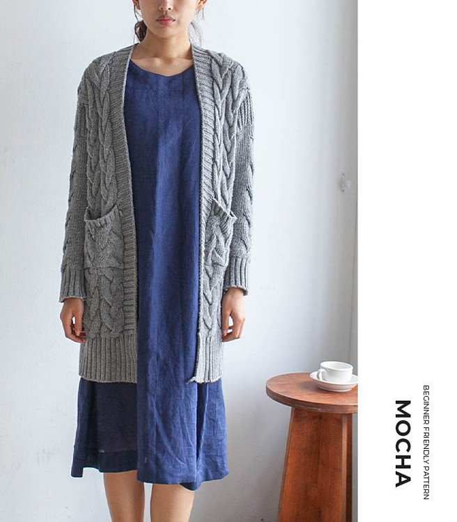 Picture of MOCHA 2 Styles Tricia Tunic and Dress Paper Pattern