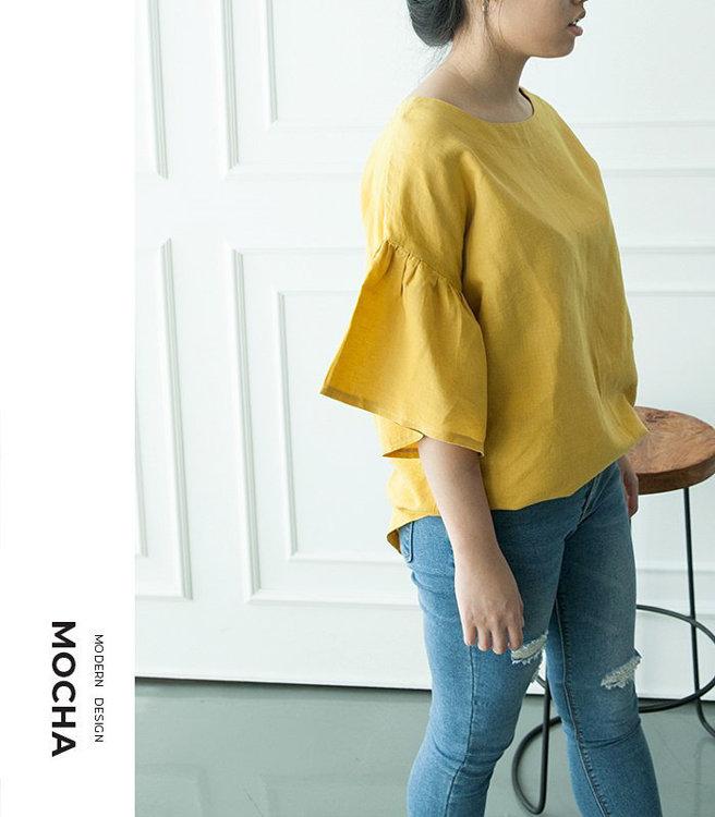 Picture of MOCHA Lena Blouse Paper Pattern