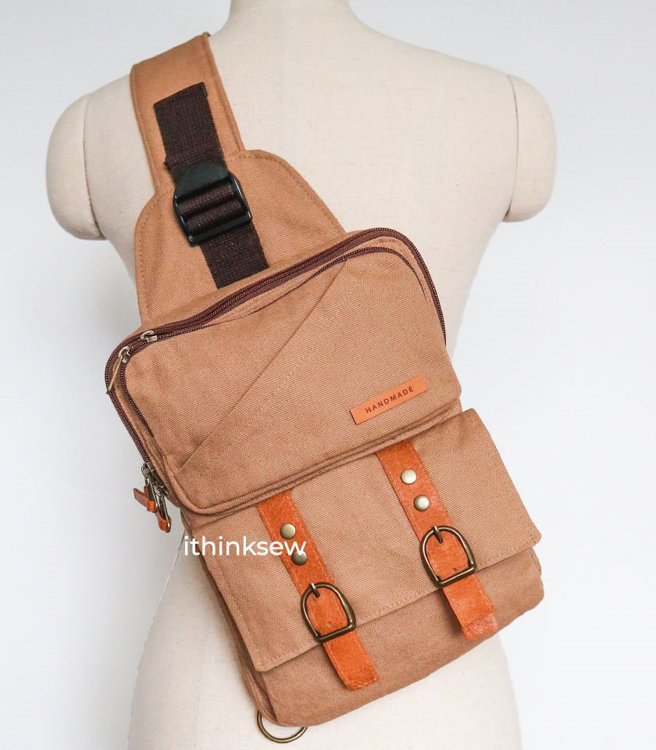 Picture of Caiden Sling Bag PDF Pattern