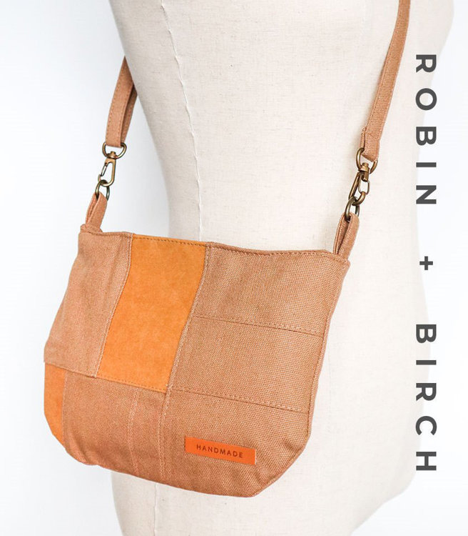 Picture of Helen Zipper Bag and Zipper Pouch PDF Pattern with Video Tutorial