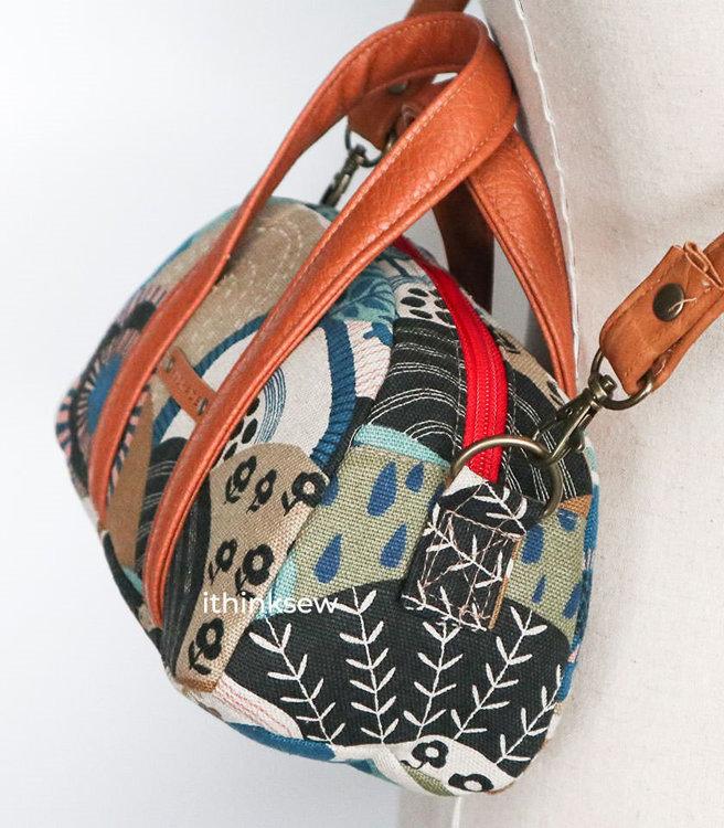 Picture of Ayda Mini Duffle Bag PDF Pattern