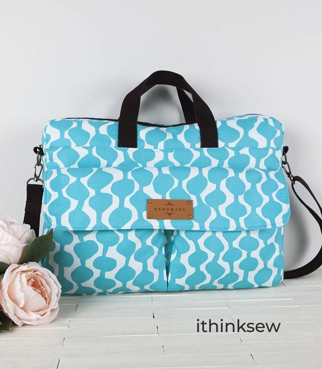 Picture of Lisette Laptop Bag PDF Pattern