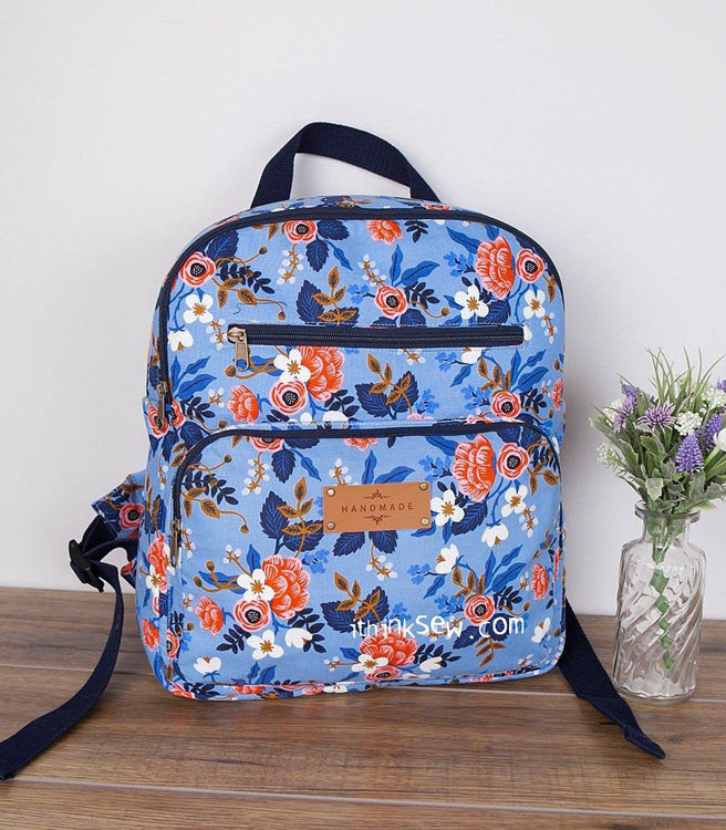 Picture of Elina Backpacks (2 Sizes) PDF Pattern