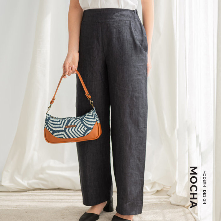MOCHA Rio Wide Pants & Callie Bag Pattern Pattern Combo