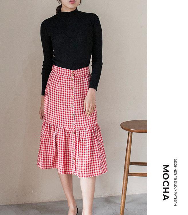 Picture of MOCHA Mariana Skirt PDF Pattern