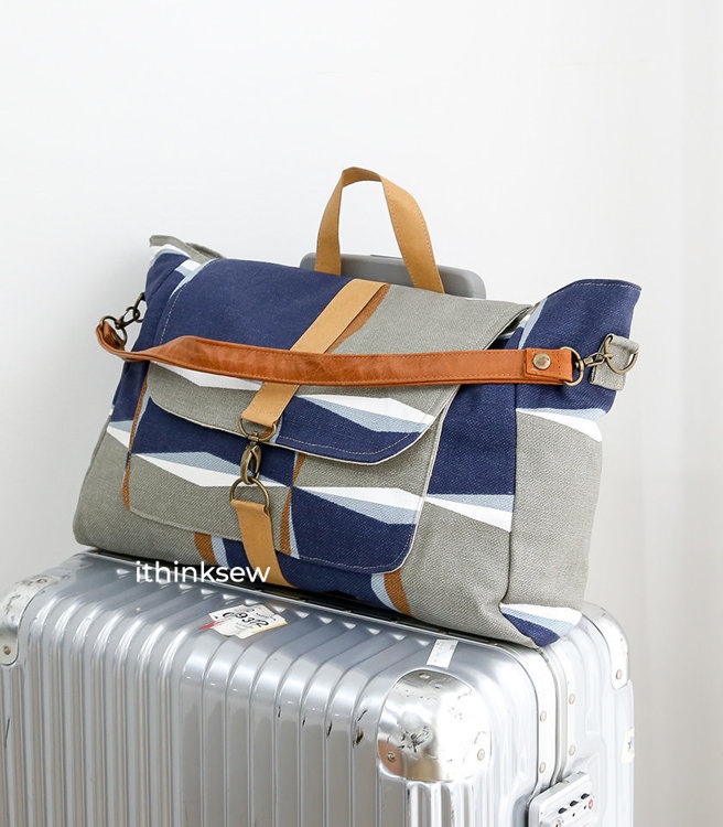 Fabio Travel Bag PDF Pattern