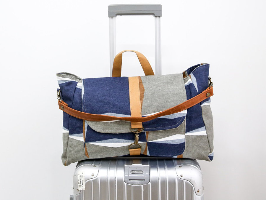 Anti-Theft Travel Bag with 2 Compartment Bag!