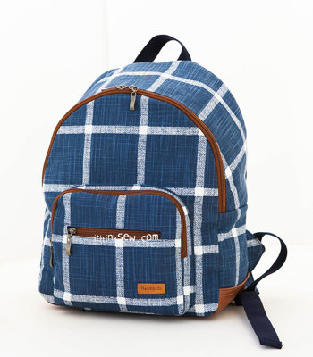 image for Lavena School Backpack PDF Pattern (#2672) - Subscribers Only