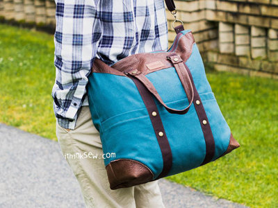 image for Tijuana Weekend Bag PDF Pattern (#1589) - Subscribers Only