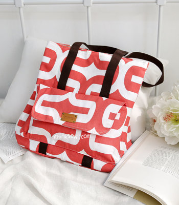 image for Kaya Bag (plus Clutch) PDF Pattern (#2554) - Subscribers Only