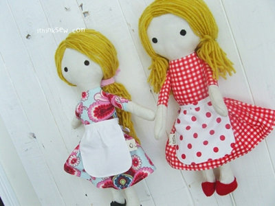image for Emily Doll PDF Pattern (#189) - Subscribers Only