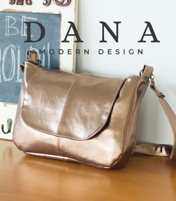 image for Mila Messenger Bag PDF Pattern (#3105) - Subscribers Only