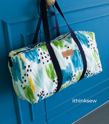 image for Keva Travel and Gym Bag PDF Pattern (#2617) - Subscribers Only