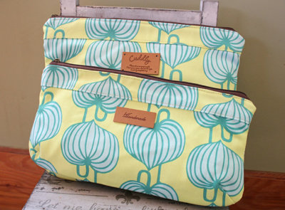 image for The Lana Zipper Pouches PDF Pattern (#542) - Subscribers Only