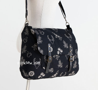 image for Maisie Bag PDF Pattern 2-size (#1190) - Subscribers Only