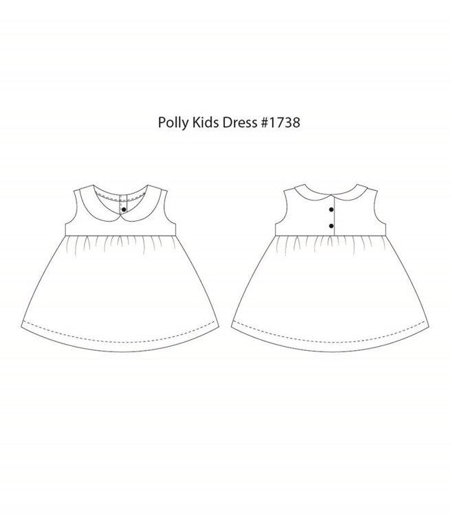 Picture of (3Y-10Y) Polly Kids Dress PDF Pattern