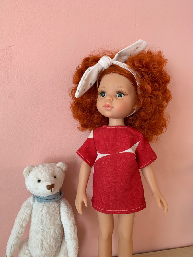 Making Basic Pattern for Doll Clothing