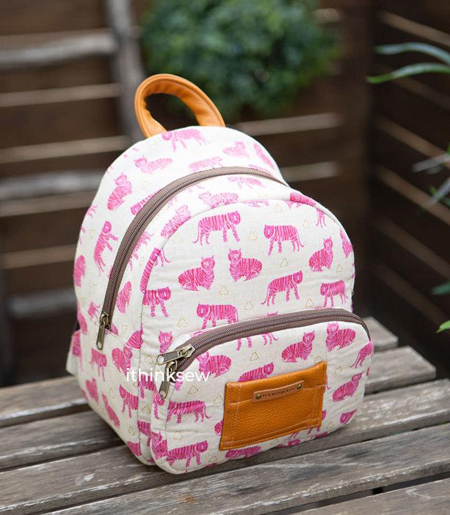 Tye Toddler Backpack PDF Pattern