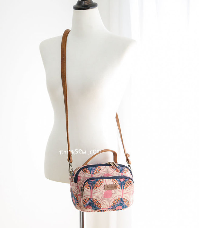 Picture of Genie Mini Cross Bag PDF Pattern