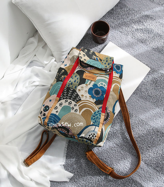 Picture of Domino Backpack PDF Pattern