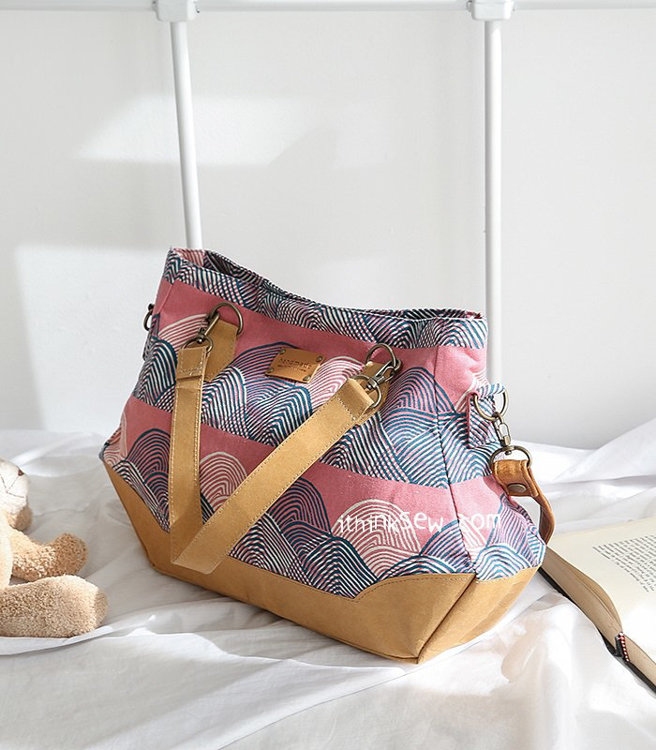 Picture of Shaline Cross Bag PDF Pattern