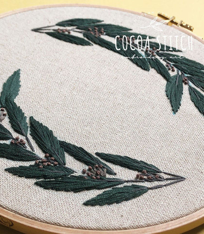 """Picture of 9"""" Green Foliage Kit"""