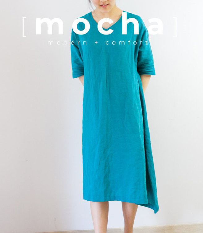 Picture of 10 MOCHA Betsy Tunic and Dress Paper Pattern (#3135_3100) - 25% Off!