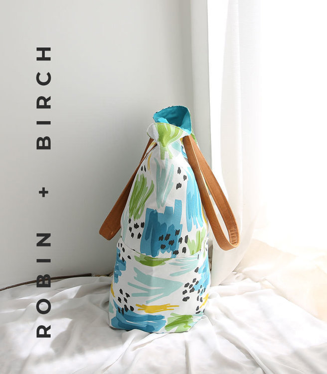 Picture of Mya Tote Bag PDF Pattern with Video Tutorial