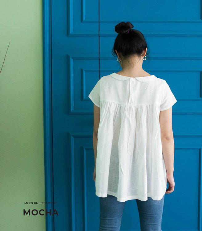 Picture of MOCHA Freya Blouse Paper Pattern
