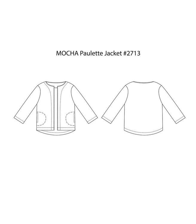 Picture of MOCHA Paulette Jacket Paper Pattern