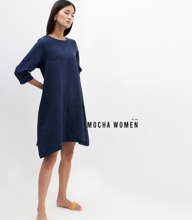 Picture of MOCHA Leticia Tunic Dress Paper Pattern