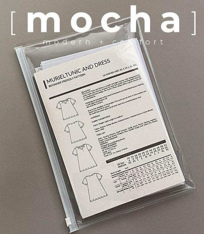 Picture of MOCHA Milena Raglan Tunic/Blouse Paper Pattern