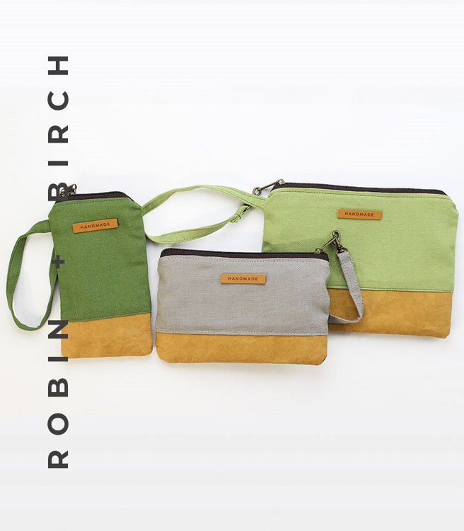 Picture of Katrina Pouches (3 Sizes) PDF Pattern with Video Tutorial