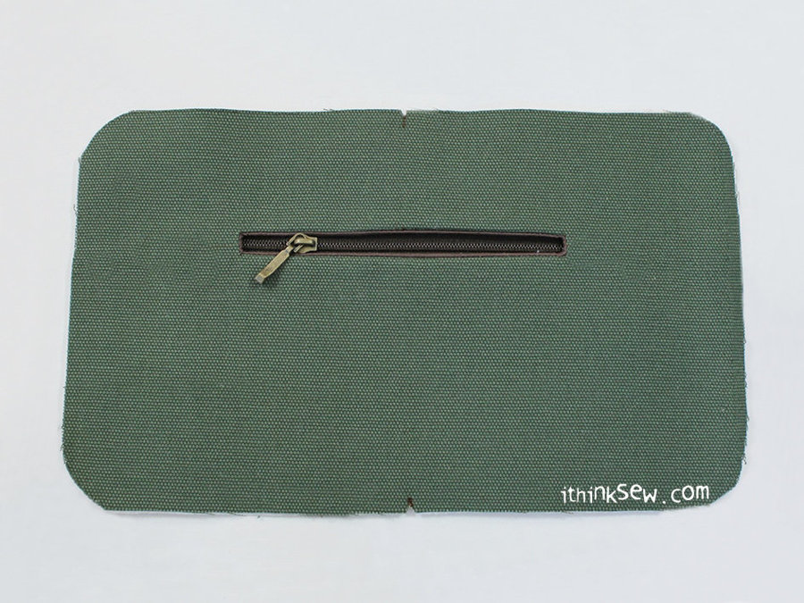 How to make the Lining Zipper Pocket