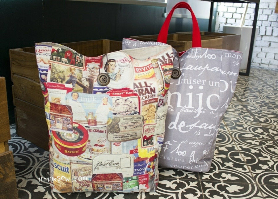 Kailey Grocery Bag FREE PDF Pattern
