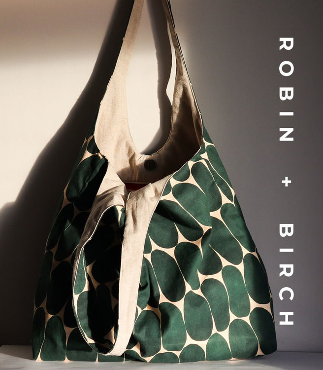 Picture of Sylvia Bag PDF Pattern with Video Tutorial